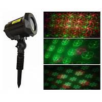 Проектор вуличний лазерний RD-7187 (6 малюнків)