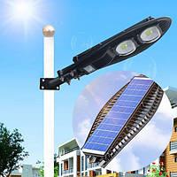 Вуличний ліхтар на сонячній батареї світильник на стовп для вуличного освітлення solar street light 180W COB