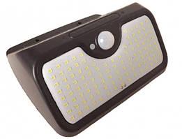 Світильник вуличний BG107 107LED з датчиком руху, сонячна батарея