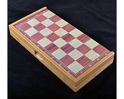 Игровой набор X-309 3в1 нарды шахматы и шашки (29х29см)