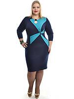 Платье женское больших размеров 48-62,модель ДК 548, фото 1