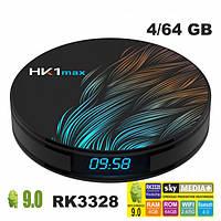 Цифрова приставка HK1 MAX 4GB/64GB Android 9.0, TV Box приставка, Медіаплеєр