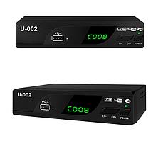 Тюнер DVB-T2  U-0002, ТВ-приставка,  IPTV, WiFi,FullHD