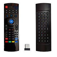 Гироскопический пульт Air Mouse MX3 русская клавиатура для смарт приставок и смарт ТВ
