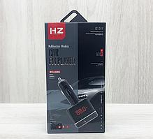 Автомобильный FM трансмиттер модулятор HZ H3BT с Bluetooth,  AUX / USB / microSD