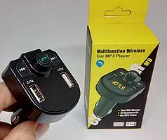 Автомобільний FM-модулятор трансмітер M9 BT, mp3 player, Bluetooth