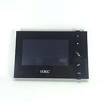 """Кольоровий відеодомофон UKC 715RO з дисплеєм 7"""", кольоровий Домофон з екраном"""