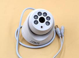 Камера відеоспостереження UKC CAD Z201 AHD 4mp 3.6 mm, камера з деталізацією, Купольна відеокамера