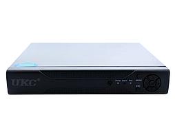 Реєстратор DVR 6604N для IP камер 4-CAM, система відеоспостереження, реєстратор 4-х канальний