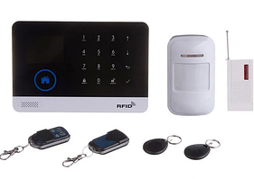 Сенсорна GSM сигналізація для будинку з датчиком руху і Wi-Fi JYX W-G600