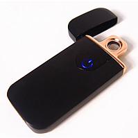 Спіральна електрична USB запальничка ZGP 5 Чорна