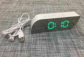 Дзеркальні електронні настільні годинники 018