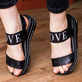Женские сандалии Fashion Luna 1824 36 размер 23,5 см Черный