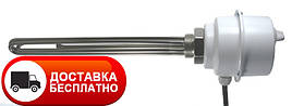 """Тэн электрический с терморегулятором GRBT 3x1,0 U6/4"""" 380 Eliko, нагревательный электротен для нагрева воды"""