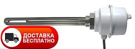 """Нагревательный электрический тен GRBT 3x3.0 U6/4"""" С Eliko 1 1/2, электротэн с терморегулятором температуры"""