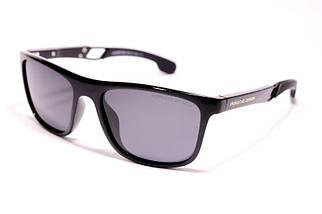 Мужские солнцезащитные очки Порше P1964 C1 реплика Черные с поляризацией