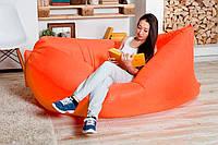 Аэродиван Lamzac (производитель Украина, цвет оранжевый), надувной лежак, кресло, Ламзак, гамак, мешок, биван