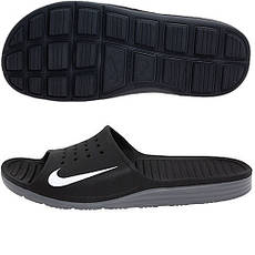 Сланцы Nike Solarsoft Slide оригинал, фото 3
