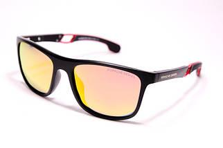 Мужские солнцезащитные очки Порше P1964 C5 реплика Черные с поляризацией