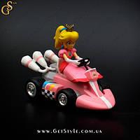 "Машинка Принцеса Піч - ""Peach Princess Car"" - 12.5 х 7.5 см"