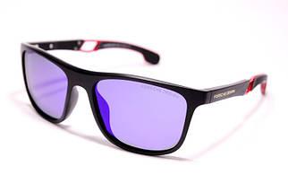 Мужские солнцезащитные очки Порше P1964 C6 реплика Черные с поляризацией