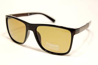 Мужские солнцезащитные очки Порше P2023 C3 реплика Коричневые с поляризацией