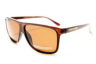 Мужские солнцезащитные очки Порше P22013 C3 реплика Коричневые с поляризацией