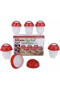 Силиконовые формы для варки яиц Silicone Egg Boil Silica Gel Bath Brush 132025P