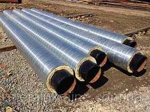Труба стальная в СПИРО (SPIRO) оболочке 630/800