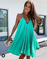 """Сукня жіноча молодіжне на бретелях,розмір 42-46 """"Zig Zag"""" купити недорого від прямого постачальника"""
