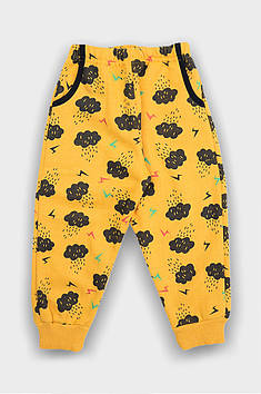 Штаны детские спортивные желтые AEG 123883T