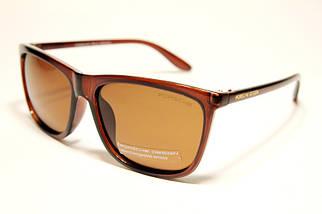 Мужские солнцезащитные очки Порше P22016 C2 реплика Коричневые с поляризацией
