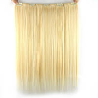 Трессы из искусственного волоса прямые (одна полоса)