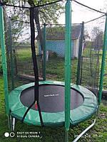 Батут польский диаметром 183см (6ft) с сеткой
