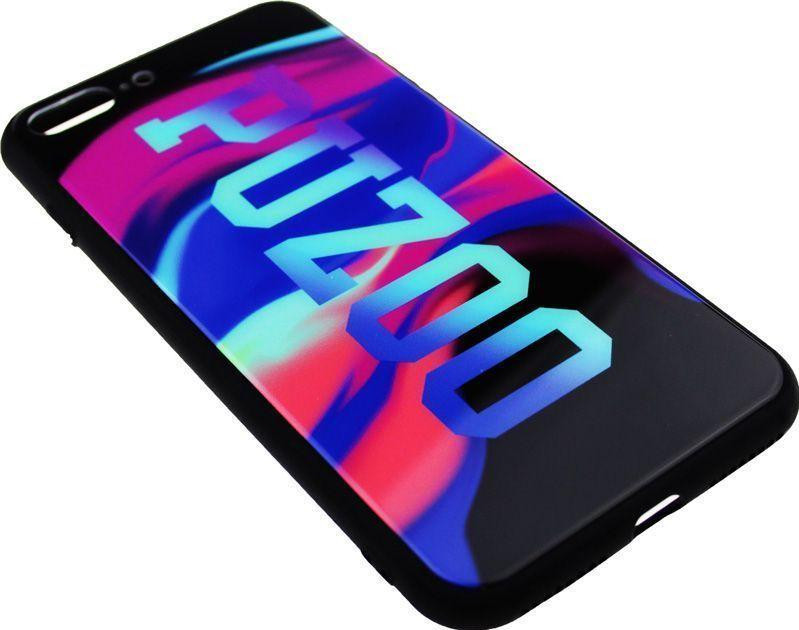 Чехол-накладка PUZOO Glass Printing with TPU Visions Apple iPhone 7 Plus /8 Plus Black bz_F_58388