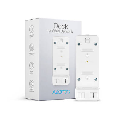 Док-станция для датчика протечки Aeotec Water Sensor Dock ― AEOEZW160
