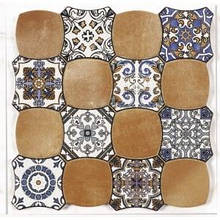 Плитка Cristacer Carnaby 45x45 decor cotto