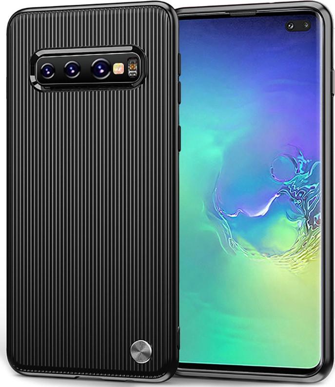 Чохол-накладка Ipaky Travel Series/Soft TPU Case Samsung Galaxy S10+ Black (bz_F_104118)