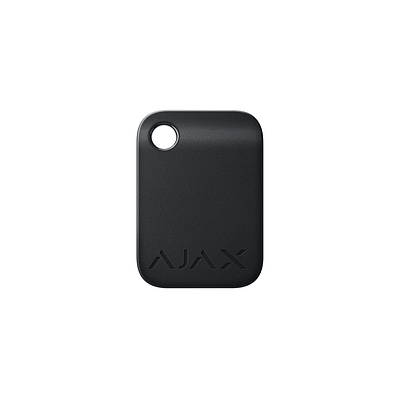 Брелок для управления охранной системой Ajax Tag черный 10 шт.