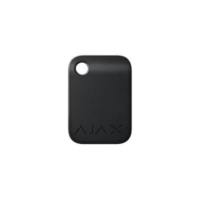 Брелок для управления охранной системой Ajax Tag черный 100 шт.