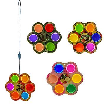 """Іграшка-антистрес """"Simple dimple"""" квіточка №SF210509(1000) КІ"""