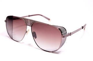 Мужские солнцезащитные очки авиаторы Порше P31402 C3 реплика Коричневые с поляризацией