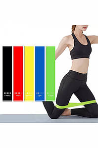 Набор резинок для фитнеса и спорта из 5 лент Sport 132981P