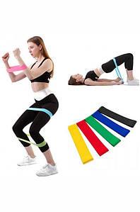 Набор резинок для фитнеса и спорта из 5 лент Liting 132982P