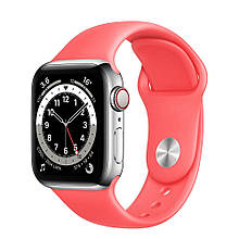 Ремінець силіконовий Sport Band 38mm | 40mm  Peach для Apple Watch SE | 6 | 5 | 4 | 3 | 2 | 1