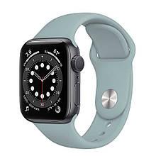 Ремешок силиконовый Sport Band 38mm | 40mm Mist Blue для Apple Watch SE | 6 | 5 | 4 | 3 | 2 | 1