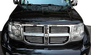 Хром накладки на решетку Dodge Nitro (2007+)