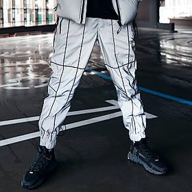 Спортивні штани Гармата Вогонь Bard рефлективні з кантом
