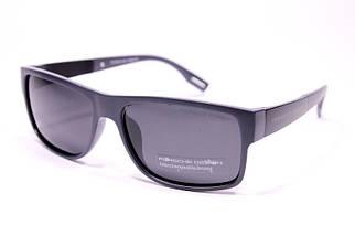 Мужские солнцезащитные очки Порше P5003 C3 реплика Черные в серой оправе