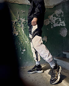 Спортивні штани Гармата Вогонь Dex чорні з рефлективом